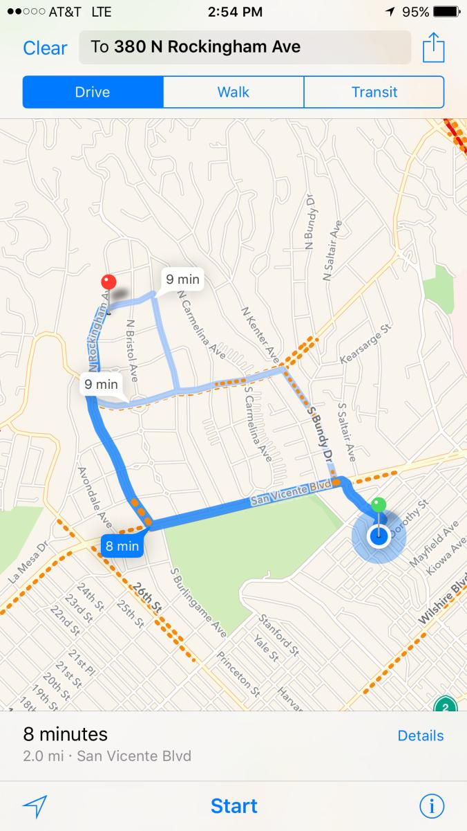 GPS from Bundy to Rockingham