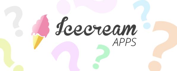 ice cream apps