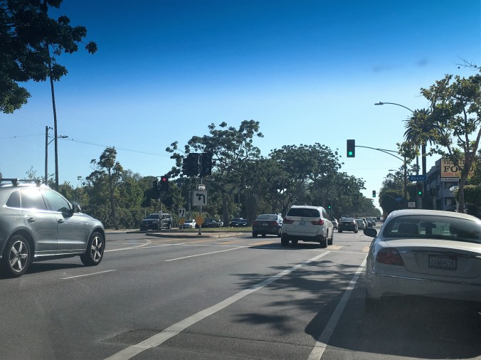 Intersection of San Vicente and Bundy