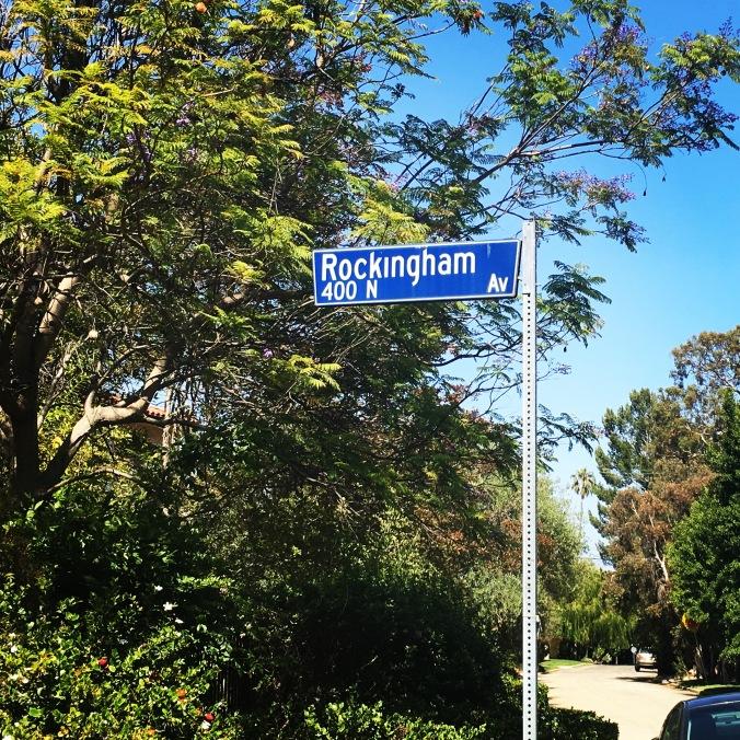 Rockingham sign