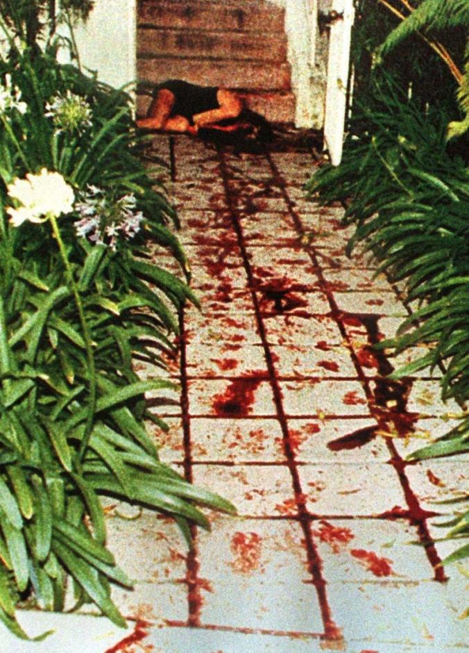 CRIME SCENE PHOTOGRAPH OF NICOL