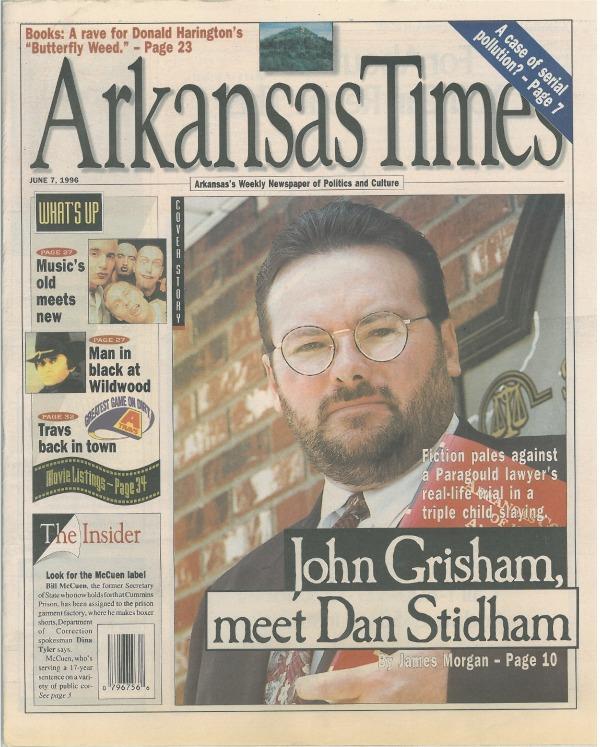 ArkansasTimesDanStidhamcover6.7.96
