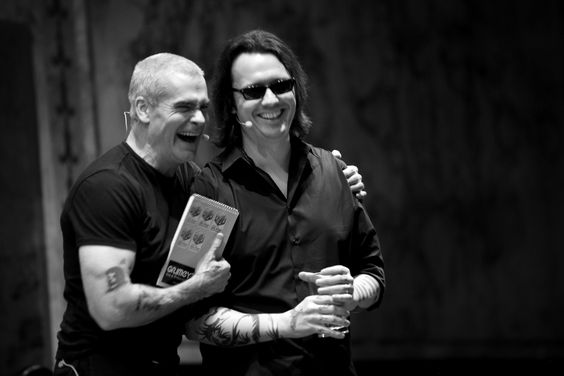 Henry Rollins and Echols
