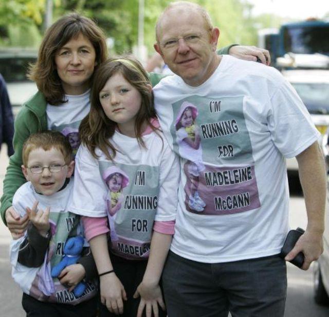 John McCann family