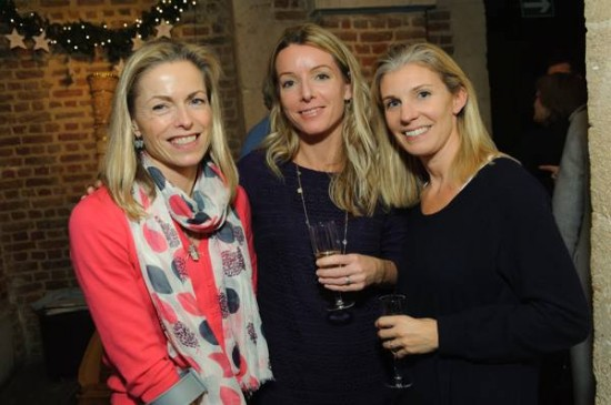 Kate with Fiona Payne (middle)