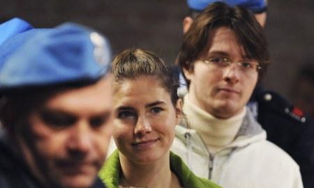 Amanda Knox and Raffaele Sollecito
