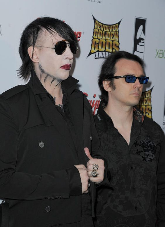 Marilyn Manson with Echols