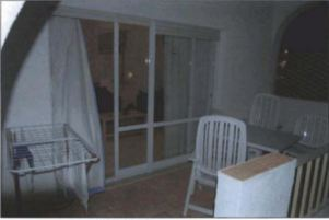 patio doors from outside