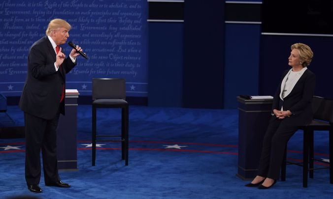 Second Presidential Debate Transcript, October 9, 2016