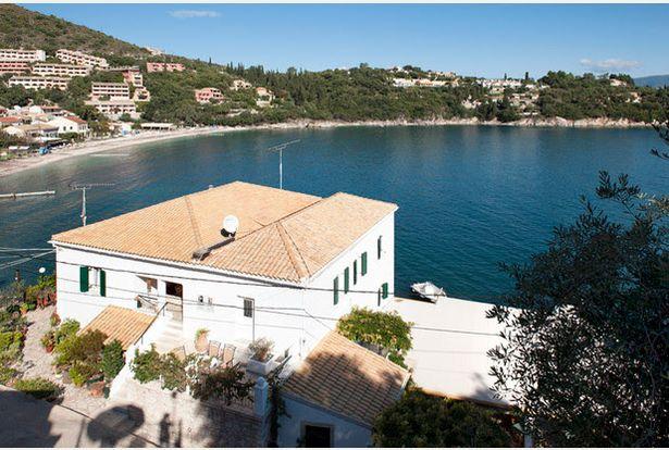 corfu house