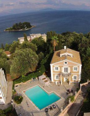 seaside mansion