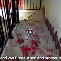 Van Breda on 60 Minutes: Screengrabs of the Crime Scene