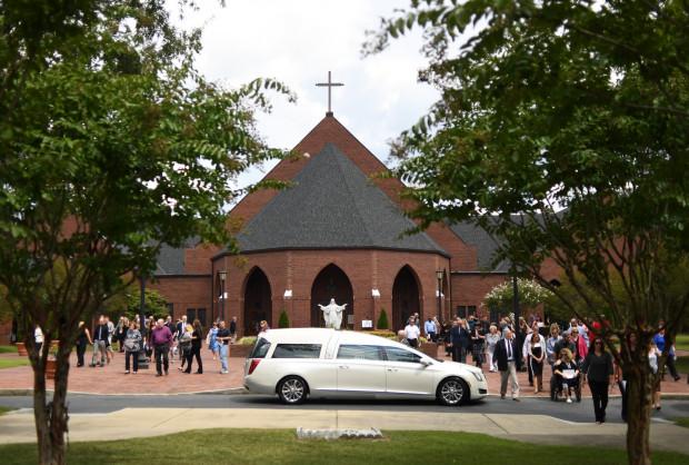 Watts funeral mass